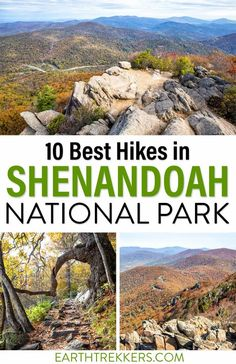 10 best hikes in Shenandoah National Park, including Old Rag, Bearfence, Hawksbill summit, Marys Rock, Stony Man, and Dark Hollow Falls. Includes recommendations for kids. #snp #shenandoah #hiking #nationalpark National Parks Usa, Yosemite National Park, Grand Teton National Park, Rocky Mountain National Park, Shenandoah National Park, Yellowstone National Park, Appalachian Trail, Appalachian Mountains