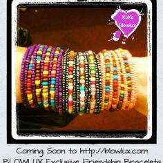 Colorful bracelets!!