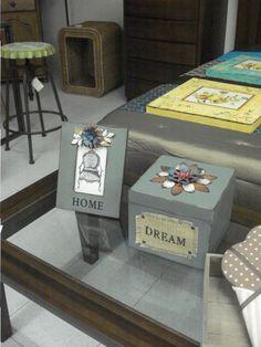 Conjunto de Marco y caja decorativa #decoracion #marcodefotos #marco