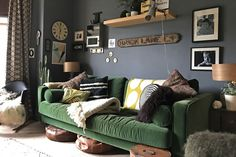 A Dark, Moody, Vintage-Filled Victorian in the UK — House Tour