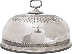 One Kings Lane - The Vintage Kitchen - Engraved Silverplate Cloche