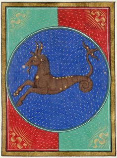 Capricornus | Book of Hours | ca. 1473 | The Morgan Library & Museum