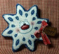 E-Pattern Nippy the Snowflake Pattern 197 by GingerberryCreek