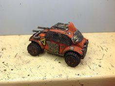 Baja Bug Raider. Commissioned piece by Erik Olsen eaodak@gmail.com #Outrider #DiceFestGames #Kickstarter Custom Hot Wheels, Custom Cars, Mad Max, Post Apocalyptic Games, Go Kart Frame, Death Race, Baja Bug, T Games, Car Mods