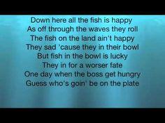 Under the Sea Lyrics - YouTube