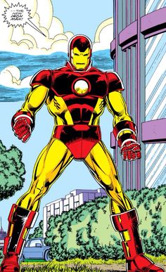 "Bye bye red and silver armour. During the ""Stark Wars"" serie the classic look comes back to life (1988 - Iron Man #231)"