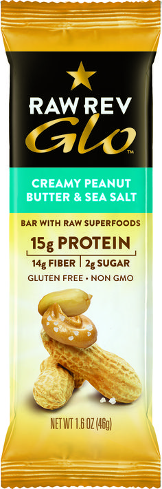 CONTAINS NO ANIMAL PRODUCTS.  PRODUCT REVIEW BY THE ANIMAL-FREE CHEF.  ...I decided on the Creamy Peanut Butter & Sea Salt first. Creamy can't be hard, right?  A11_RR_11215_11_SAMPLES_  I felt the bar – through the packaging – and thought, oh my goodness, it's soft. Then I felt the others – through the packaging – and same thing, soft. Whoa, now I was excited. I opened the package, well, cut the top off with scissors, then opened it. AND WHAT A TOTALLY UNEXPECTED SURPRISE...