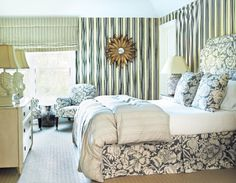 Decorator Tom Samet transforms a couple's East Hampton home into a feel-good place Image Gallery - Hamptons Cottages & Gardens - December 2012 - Hamptons