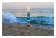 Beach sunset, from the Natural Palettes Tumblr  #color