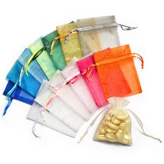 Shimmer Favor Bags