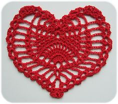 Ravelry: Have a free Heart pattern by Mona Modica