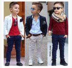 Young Boys Fashion, Toddler Boy Fashion, Little Boy Fashion, Toddler Boy Outfits, Trendy Boy Outfits, Outfits Niños, Little Boy Outfits, Kids Outfits, Baby Boy Dress