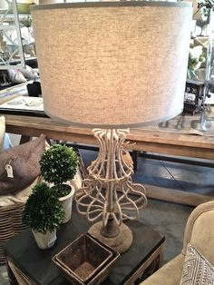 Jute wrapped table lamp-new at Pearson & Company Home Design Decor, House Design, Home Decor, Decorating Blogs, Jute, Table Lamp, Pottery, Furniture, Unique