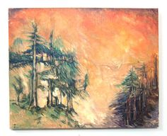 Catskill Landscape 20 x 16 Oil Painting by GreganPaintings on Etsy