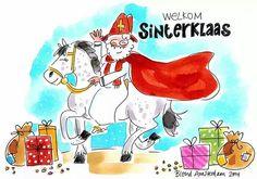 Welkom Sinterklaas - Blond Amsterdam