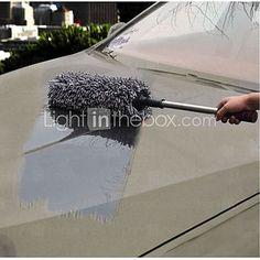 limpieza de coches polvo plumero cepillo coche cera arrastre cera shan cepillo cera polvo cepillo largo - USD $28.99