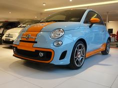 Fiat 500 Gulf Edition: a stylish package for your favorite car!