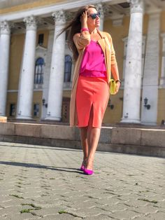 Summer bright outfit