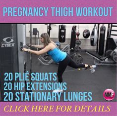 This pregnancy workout for the thighs will prevent excess weight gain in the hips and thighs during pregnancy. They can all be done from home and are safe to perform in all trimesters of pregnancy.  http://michellemariefit.publishpath.com/pregnancy-thighs-workout