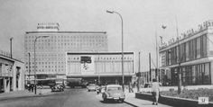 socheritage:  International Kino, 33, Karl Marx Allee, Berlin, Germany, built between 1961-63, architect: Josef Kaiser, Heinz Aust.