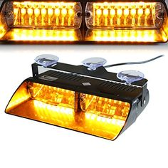 Trend From Tocas tm Led High Intensity Led Law Enforcement Emergency Beacon Hazard Lamps Warning Strobe Lights For Vehicle Car Truck Suv Interior Roof Dash