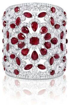 Brazalete de Rubíes y Diamantes
