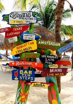 where's your next vacation? Make a sign for each place you visit and then put them in the backyard = interesting yard art :)