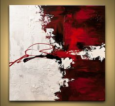 Acrylic Painting 40 Original Abstract Modern by OsnatFineArt