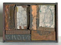 The alchemic collages and assemblages of artist Hannelore Baron (1926-1987).