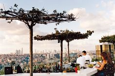 Rooftop Bars Restaurants Design | Architectural Digest Rooftop Bar Bangkok, Best Rooftop Bars, Rooftop Restaurant, Restaurant Design, Restaurant Interiors, Istanbul Restaurants, Turkey Destinations, Places To Travel, Places To Visit