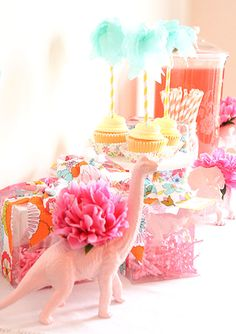 A Girl's Dino Party  {Abby Hunter}