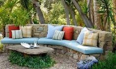 dry stone wall seating - Google Search