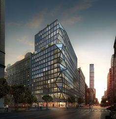 121 E 22nd St OMA Rem Koolhaas Residential Tower
