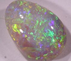 1.10 CTS CRYSTAL OPAL LIGHTNING RIDGE ELECTRIC COLORPLAY C9162