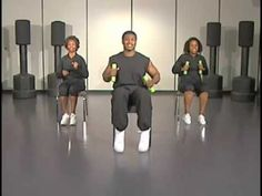 Chair-a-size! 32 minutes of a cardio. Great chair exercises for those who have limited mobilty!
