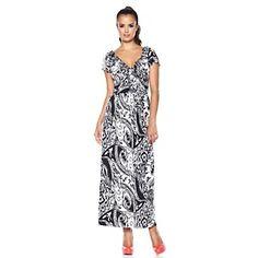 Antthony Rue Saint Julien Maxi Dress at HSN.com.