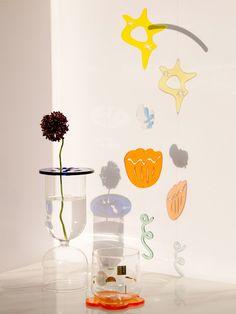 Collage Design, Prop Design, Album Design, Room Ideas Bedroom, Diy Room Decor, Mobiles, T Art, Acrylic Material, Graphic Design Inspiration