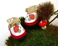 Lati Doll Shoes 28mm for Blythe Lati Yellow Pukifee by DollDestash, $26.00