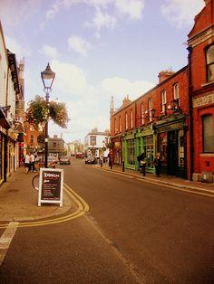 Dalkey village, Co.Dublin, Ireland.