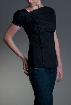 Soolista Námořník – MOLO7 Chef Jackets, Blouses, Fashion Design, Shirts, Women, Women's, Woman, Blouse, Woman Shirt
