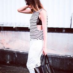 TREND #emmetrend #fashionblogger #inspiration #streetstyle #streetchic #fashion #outfit #stripes #top #marine #style #moda #fashionmoment #girl #love #style