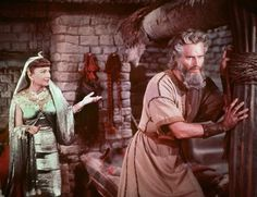 Based on the Holy Scriptures, with additional dialogue by several other hands, The Ten Commandments was the last film directed by Cecil B. Cleopatra, Scene Photo, Picture Photo, Anne Baxter, The Bible Movie, Prince Of Egypt, Epic Film, Yul Brynner, Ten Commandments