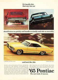 65 Pontiac Vintage Ads