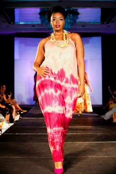 Full Figured Women Fashion Show  Designer: Osun