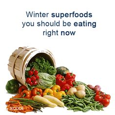 Winter Superfoods You Should be Eating Right Now  Just because the polar vortex is back, doesn't mean you can't have fresh produce. Believe it or not, some fruits and veggies are in their prime this time of year.  Read on for top picks of the season ➨ http://huff.to/1aEXFmO