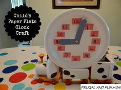 This is a great way to get kids interested in time and is awesome for hand-eye coordination and to order numbers. My daughter and I were having a tea party and I also wanted to set up a craft for us to do together. I decided we would make Clocks out of Paper Plates that [... Read More with Links ...]