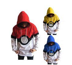 Pokemon Hooded Sweatshirt - (S-2XL)