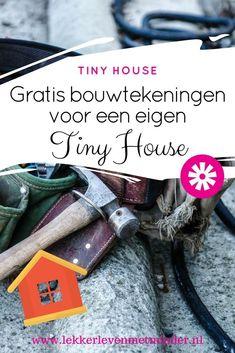 Wil jij zelf wel een tiny house bouwen, maar heb je geen flauw idee waar je moet beginnen? In dit artikel vind je een aantal gratis bouwtekeningen die je kunnen helpen met de bouw. Van A-Z! Tiny Little Houses, Tiny House, Small Living, New Trends, Ana White, Stress, Budget, Grid, Camper