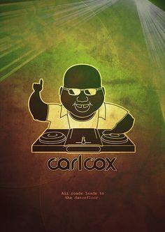 Carl Cox // Caroline Escobar House Music, Music Is Life, My Music, Dj Dj Dj, Dj Photos, Dance Legend, Acid House, Underground Music, Techno Music