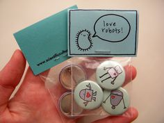 Button Packaging from Scientific Culture